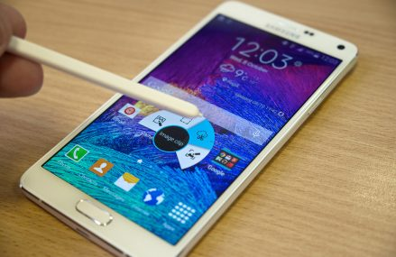 Samsung Galaxy Note 4: Bigger And Faster